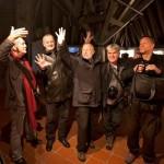 Eifert János, Ivo Borko, Vasja Doberlet, Boro Rudic, Vladimir Arsovski az Ex Tempora pályázat értékelésekor (Photo: Stefi Praprotnik)