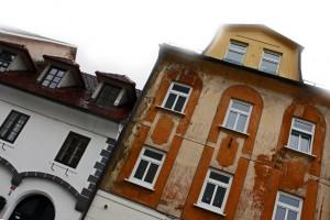 Kranj, Glavni trg. 12-14. számú ház (Photo: Eifert János)