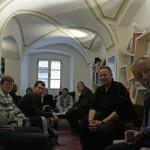 Kranj, Layer-ház, ahol vártuk az Ex Tempore pályázat eredményét (Photo: Eifert János)