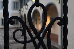 Kranj, kovácsolt vaskapu részlete (Photo: Eifert János)