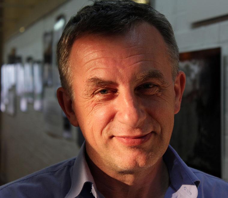 Füleki László főszervező, a Szempont fotókör vezetője (Photo: Eifert János)