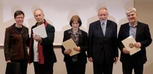 Petra-Puhar, Eifert-János, Andreja-Peklar, Vasja-Doberlet, Boro-Rudic (Photo: Simon Krejan)