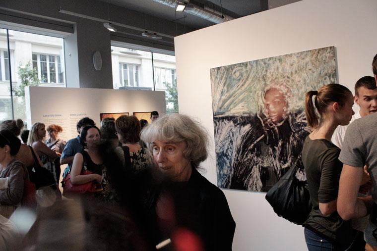 LakatosErika kiállításmegnyitó közönsége (Photo: Eifert János)
