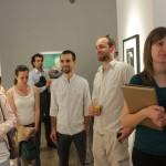 Lakatos Erika: Emlékek jövője - kiállításmegnyitó, X6 Gallery, Budapest (Photo: Eifert János)