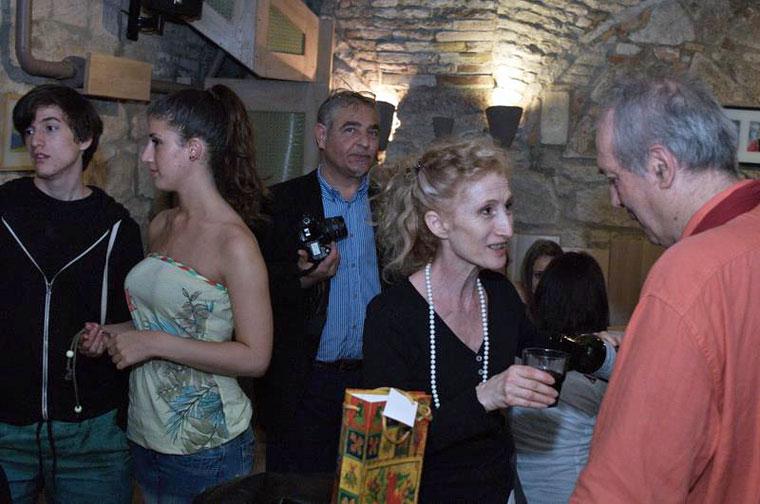 2013.05.11. Eifert Andris, Kata Nóra, Montvai Péter, Lőrinc Kati és Eifert János (Walters Lili felvétele)