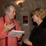 2013.05.11. Eifert János Kiss Marianna ajándékának örül (Photo: Barna Ilona)