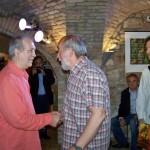 2013.05.11. Eifert János és Szűcs László szobrászművész (Photo: Kapusy György)