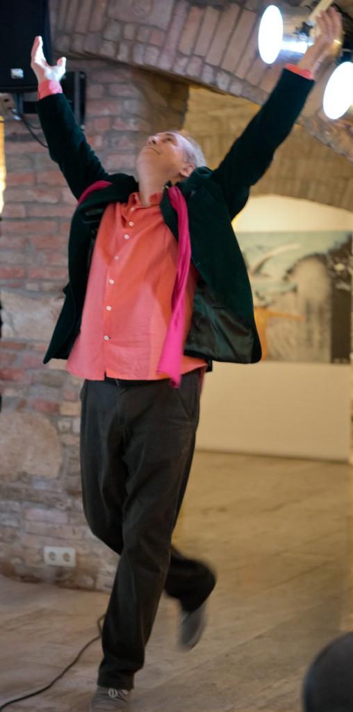 2013.05.11. Eifert János táncol (Photo: Varga Erika)