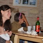 2013.05.11. Kis-Kovács Sári ölében a pici Lénával, Varga Erikával beszélget (Photo: Gergely Beatrix)