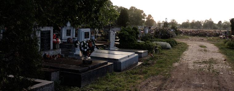 Anyám sírjánál (Hódmezővásárhely, 2013.05.17.) Photo: Eifert János
