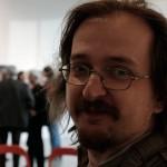 A riporter Rodolf Hervé kiállításának megnyitóján (Photo: Eifert János) 2013.05.28.