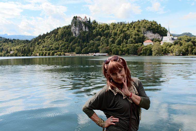2013.06.01.-Ildikó-a-Bledi-tónál (Photo: Eifert János)