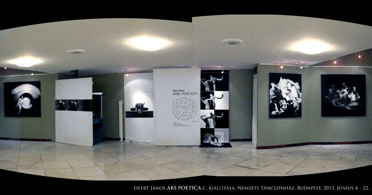 Eifert János ARS POETICA - Ötven év fotográfiái (Nemzeti Táncszínház, Budapest)