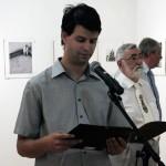 Elek András felolvas, Tornyai János Múzeum (Photo: Eifert János)