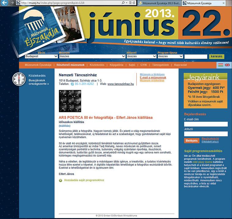 2013.06.22.-Múzeumok-Éjszakája-Eifert-ARS-POETICA