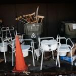 Gyógyászati-segédeszközök. Needham Recycling, MA, USA, 2008.02.14. (Photo: Eifert János)