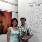 Eifert kiállításmegnyitó és könyvbemutató a Kiss Fotó Kamara Galériában (Bahget Iskander felvétele) Kecskemét, 2013.07.04.
