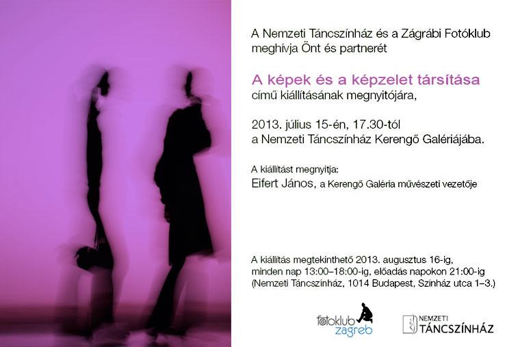 A KÉPEK ÉS A KÉPZELET TÁRSÍTÁSA - Fotoklub Zagreb kiállítása a Kerengő Galériában