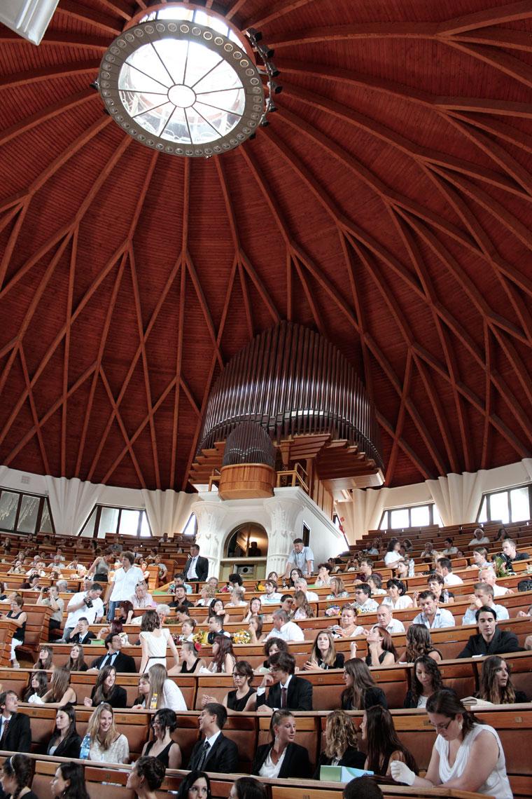 Pázmány Péter Katolikus Egyetem, Auditorium Maximum (Photo: Eifert János)