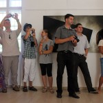 ARS POETICA. Finisszázs az Alföldi Galériában (Dobóczky Zsolt felvétele) 2013.07.21.