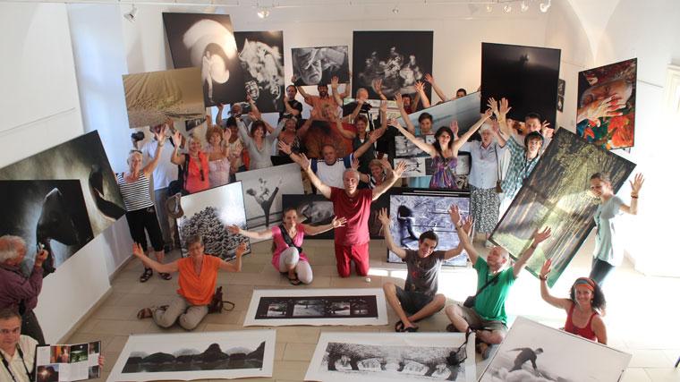 Eifert ARS POETICA c. kiállításának finisszázsa az Alföldi Galériában