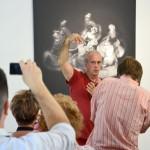 Eifert ARS POETICA c. kiállításának finisszázsa az Alföldi Galériában (Photo: Marton József Ferenc)