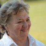 Juhász Magda költőnő, mesemondó (Photo: Eifert János)