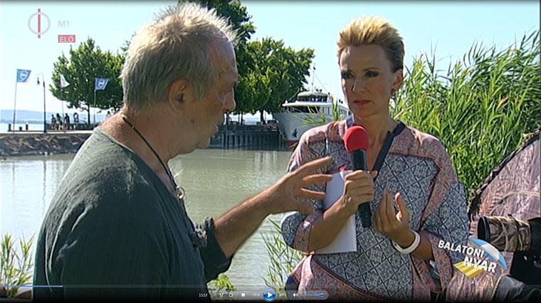 Eifert János és Jakupcsek Gabi a természetfotózásról beszélgetnek (Balatoni Nyár, M1, Duna World)