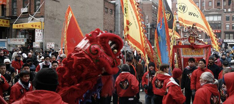 Kínai holdújév ünnepe, Boston, 2008.02.17. (Phozo: Eifert János)