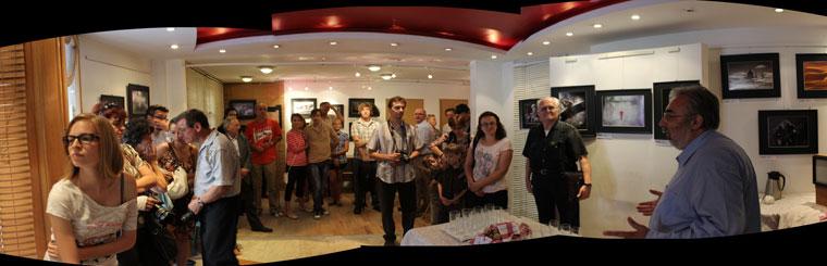 4. Ágens Nemzetközi Digitális Fotópályázat kiállításának megnyitója (Budapest, 2013.08.31.)