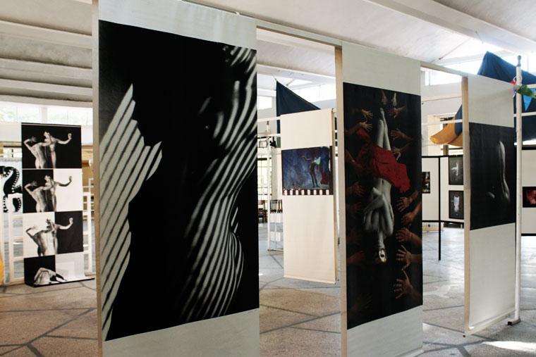 Kiállításom részlete (Primorsko, Bulgaria, 2013.09.07.) Photo: Eifert János