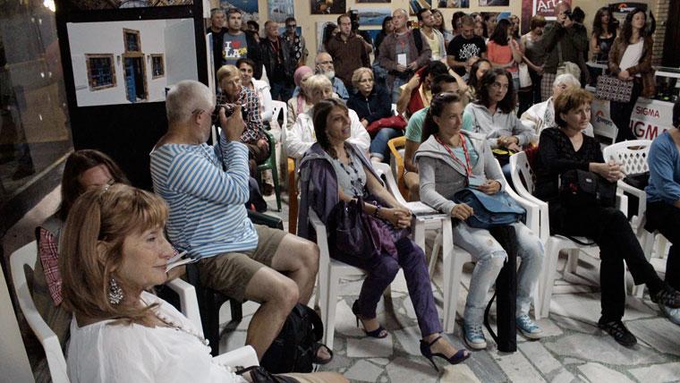 Diaporámavetítésem közönsége (Primorsko, 2013.09.08.)