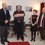 Benkó Sándor, Szalóky Béla, Kotsis Ágota és Eifert János (Photo: Urbán G. Tamás)