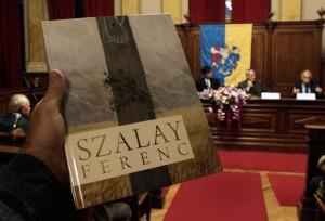 Szalay Ferenc könyvbemutató a Városházán, 2013.10.04. (Photo: Eifert János)
