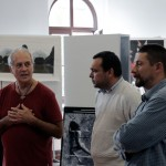 Eifert János, Daniel Săuca és Szabó Attila a sajtótájékoztatón (Bándi Dániel Dávid felvétele)