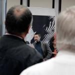 Szabó Attila megnyitja a kiállításomat, Zilah, 2013.10.15. (Bándi Dániel Dávid felvétele)