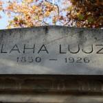 Blaha Lujza (1830-1920) síremléke - Fiumei úti Sírkert, Budapest, 2013.10.19. (Photo: Eifert János)