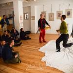 Tánc/Test workshop Eifert János vezetésével, az MMS Mozdulatművészeti Stúdióban (Fagyas Robert felvétele)