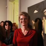 Mester és tanítványa, kiállításmegnyitó a Társalgó Galériában, 2013.10.21. (Photo: Eifert János)