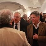 Ungvári Tamás Sas Józseffel beszélget (Photo: Eifert János)