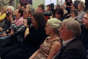 Baricz Kati a közönség soraiban (Photo: Eifert János)