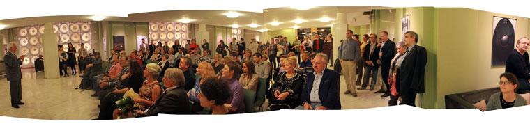 S. Faragó Gyöngyi: No Comment c. kiállításának megnyitója (Photo: Eifert János)