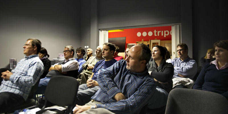 Eifert-előadás hallgatói (Peti Péter felvétele)