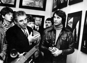 Omszki kiállításom megnyitója Omszkban, 1981. októberében (Metzger felvétele)