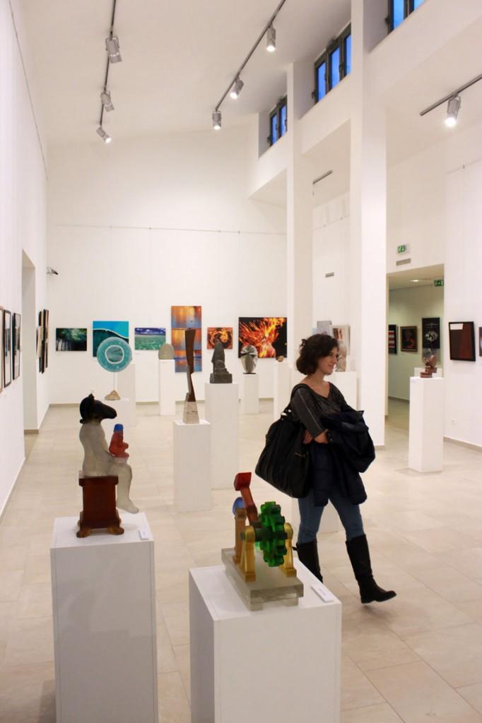 Négy Elem a Régi Művésztelep Galériájában, Szentendre (Photo: Eifert János