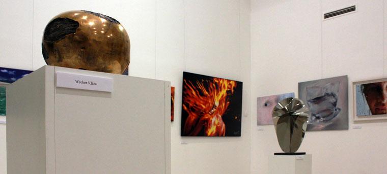 Négy Elem c. kiállítás a Régi Művésztelep Galériájában, Szentendre (Photo: Eifert János