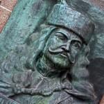 Kassa, II. Rákóczi Ferenc reliefje a Dómfő bejárata mellett (Photo: Eifert János)