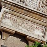 """""""Kassa város közönsége hálás szívében örökké él Mátyás, az igazságos király emléke (1443-1943"""""""