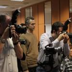 Fotósok a Think Tank Photo Magyarország fotópályázat díjátadóján  (Photo: Eifert János)