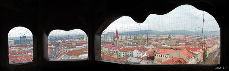 Kassa, panorámakép a Dóm tornyából (Photo: Eifert János)